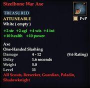 Steelbone War Axe