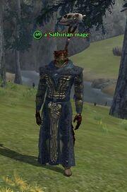 A Sathirian mage