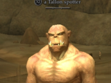 A Tallon spotter (Zek, the Orcish Wastes)