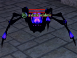 A dark widow