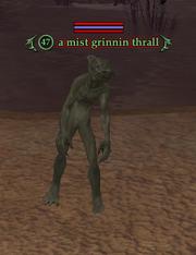 A mist grinnin thrall