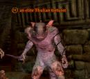 An elite Thulian torturer