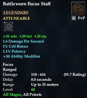Battleworn Focus Staff
