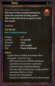 Beta Guided Ascension