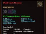 Deathwatch Hammer