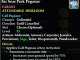 Far Seas Pack Pegasus