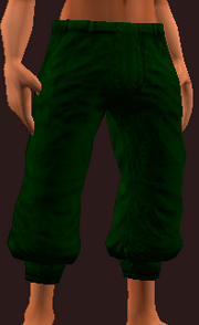 Imbued Tranquil Burlap Pantaloons (Equipped)