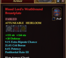 Blood Lord's Wrathbound Breastplate