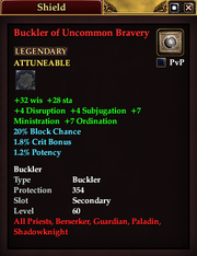 Buckler of Uncommon Bravery