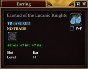 Earstud of the Lucanic Knights