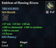 Emblem of Flowing Rivers