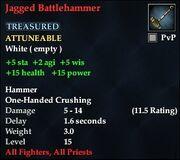 Jagged Battlehammer