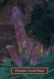 Prismatic Crystal Shard visible
