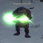 Shaman Snowfell