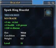 Spark Ring Bracelet