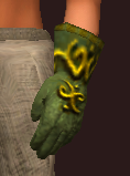 Vesspyr Workman's Green Gloves (Equipped)