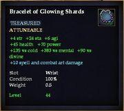 Bracelet of Glowing Shards