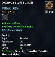 Dwarven Steel Buckler