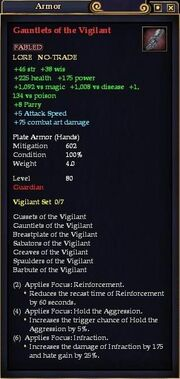 Gauntlets of the Vigilant