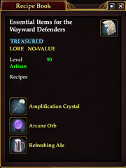 Essential Items for the Wayward Defenders