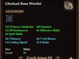 Ghorkaal Bone Wristlet