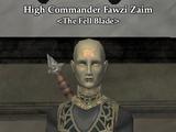 High Commander Fawzi Zaim