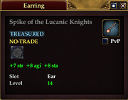 Spike of the Lucanic Knights
