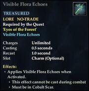 Visible Flora Echoes