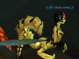 A bixie sentry