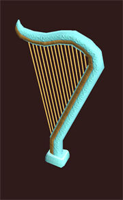 Ancient-musical-harp