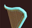 Ancient Musical Harp