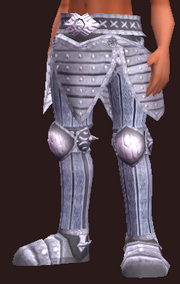 Exarch's Greaves of the Citadel (Equipped)