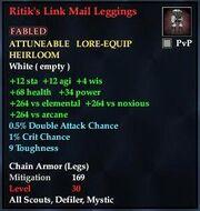 Ritik's Link Mail Leggings