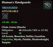 Shaman's Handguards