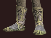 Spiritualist's Chain Boots of the Spiritcaller (Equipped)