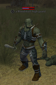 A Bloodskull high guard