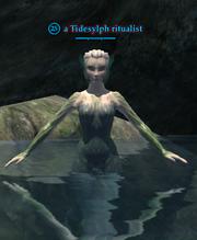 A Tidesylph ritualist