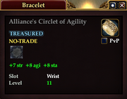 Alliance's Circlet of Agility