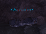 An armored fiend