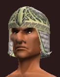Blackguard's Blackened Iron Chain Helmet (Equipped)