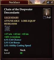 Chain of the Deepwater Descendants
