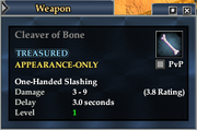 Cleaver of Bone
