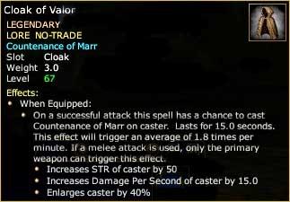 Cloak of Valor