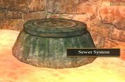 FP Sewer System Entrance