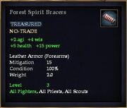 Forest Spirit Bracers