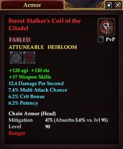 Forest Stalker's Coif of the Citadel