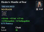 Healer's Mantle of Fear