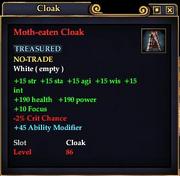 Moth-eaten Cloak