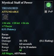 Mystical Staff of Power