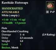 Rawhide Fistwraps